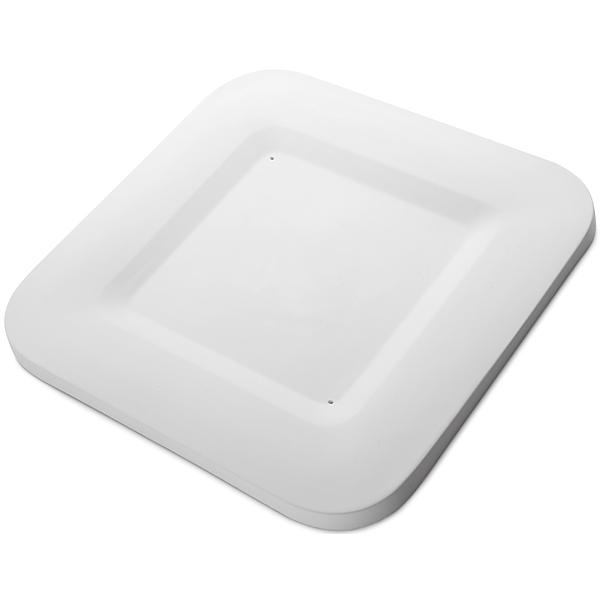 Square Plate - 33.2x33.2x1.9cm - Base: 21.5x21.5cm - Fusing Mould