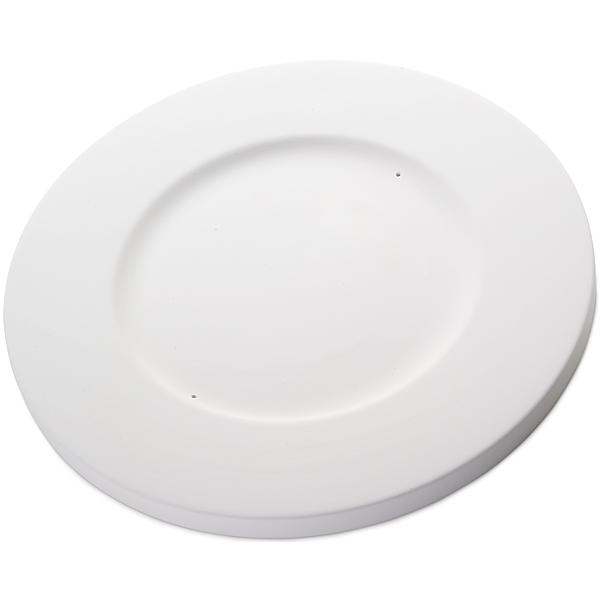 Round Plate - 32.6x1.8cm - Base: 20.3cm - Moule pour Fusing