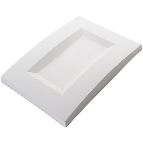 Convex Dish - 34.4x24.7x3.6cm - Base: 23.5x13cm - Fusing Mould