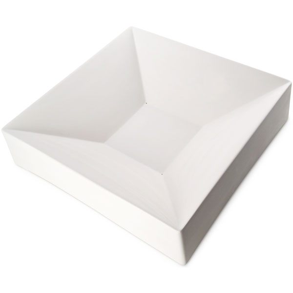 Party Bowl Square - 42.8x42.8x9.8cm - Base: 15x15cm - Fusing Mould
