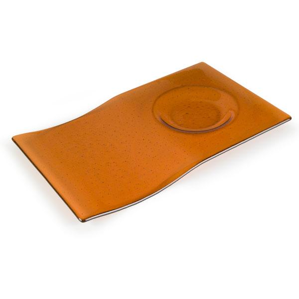 Breakfast Tray - 37.5x22.8x2.2cm - Base: 13cm - Fusing Mould