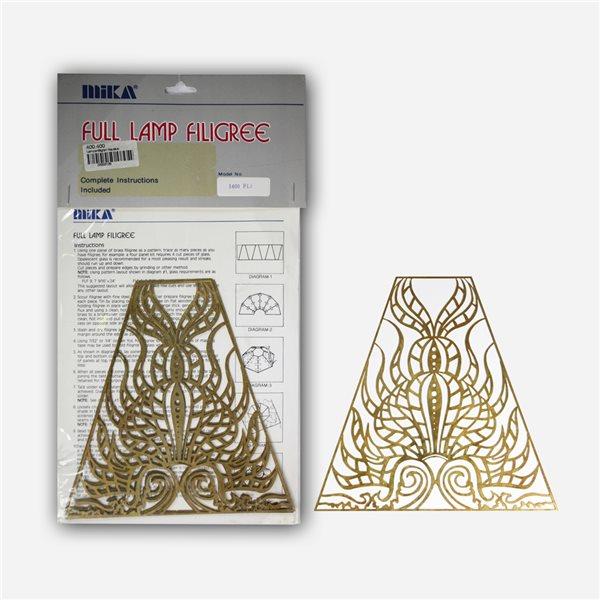 Lamp Filligree - Nautilus - 1 Set (4 Segments)