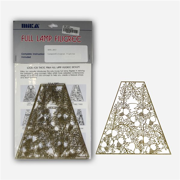 Lamp Filligree - Figtree - 1 Set (4 Segments)