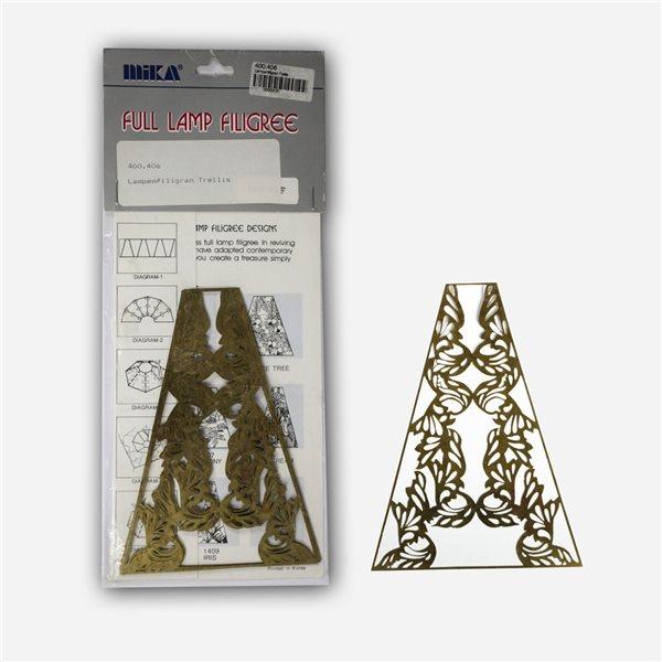 Lamp Filligree - Trellis - 1 Set (6 Segments)