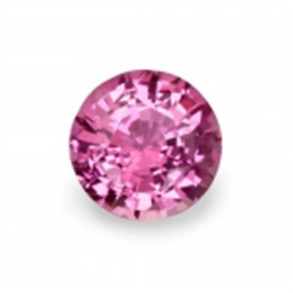 Sapphire Synthetique - Rose - Rond - 3mm - 10pcs