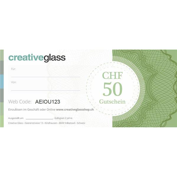 CHF 50 Gift Voucher