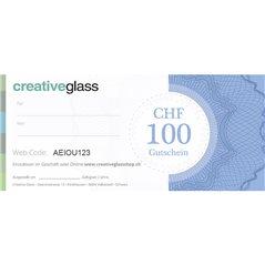 CHF 100 Geschenk Gutschein