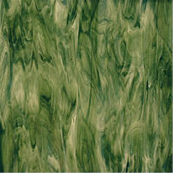 Spectrum Forest Green Opal - Translucent - 3mm - Non-Fusible Glass Sheets