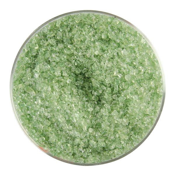 Bullseye Frit - Leaf Green - Medium - 450g - Transparent
