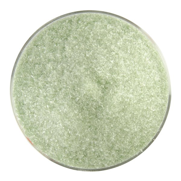 Bullseye Frit - Leaf Green - Fine - 450g - Transparent