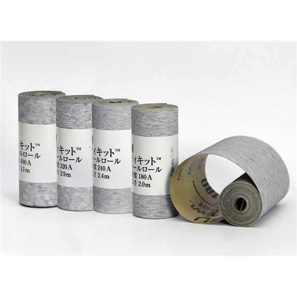 Set of Abrasive Paper - Self-Adhesive - Roll