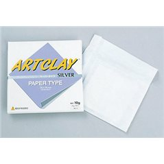 Art Clay Silver - Paper Type - 75x75mm - 10g