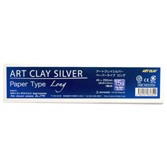 Art Clay Silver - Paper Type Long - 40x200mm - 15g