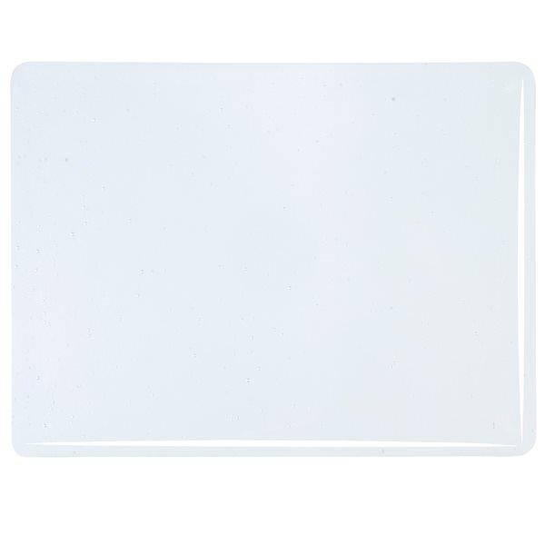 Bullseye Red Reactive Clear - Transparent - 3mm - Fusing Glas Tafeln